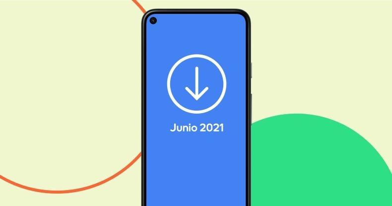 Actualización de junio de Android