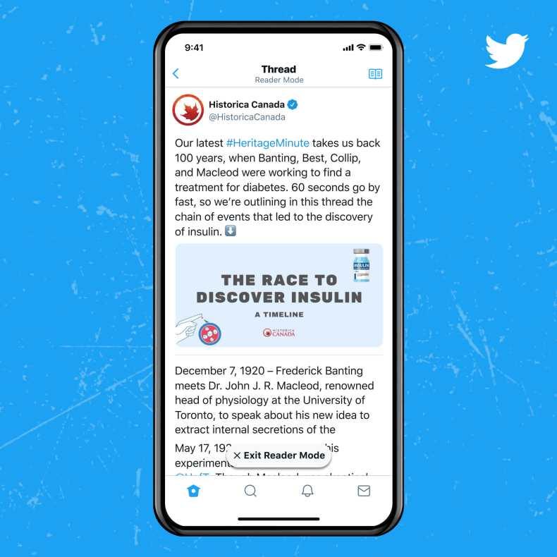 La suscripción de Blue Twitter agrega una función oficial de `` cancelar tweet ''