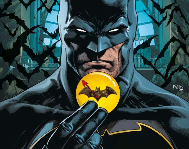 Primer teaser del disfraz de Batman de Michael Keaton en The Flash: Bloody logo