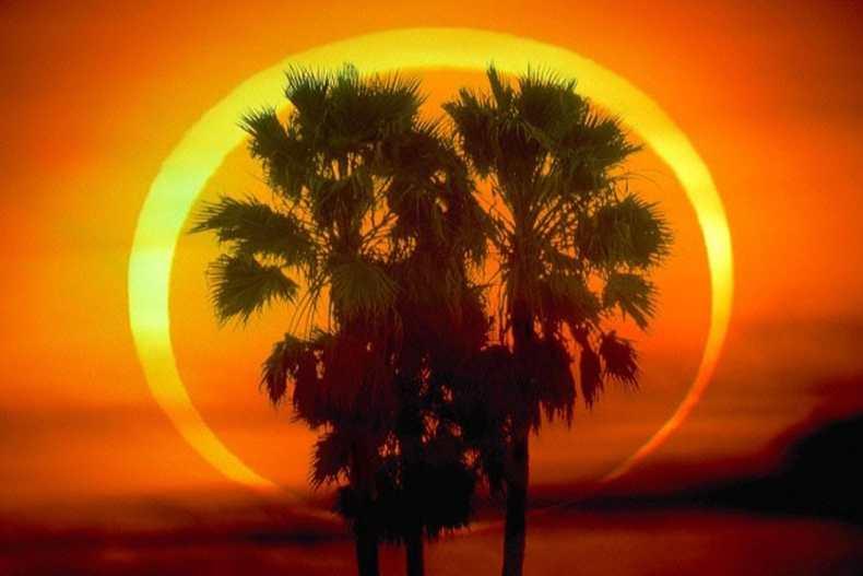 ¿Te gustó el eclipse anular del 10 de junio?