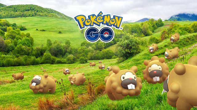 Evento Bidoof Buzz en Pokémon GO