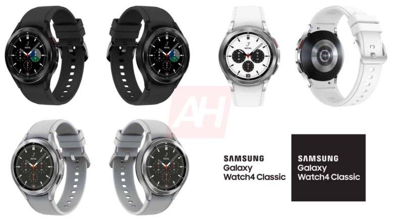 El Samsung Galaxy Watch4 Classic en todos sus colores
