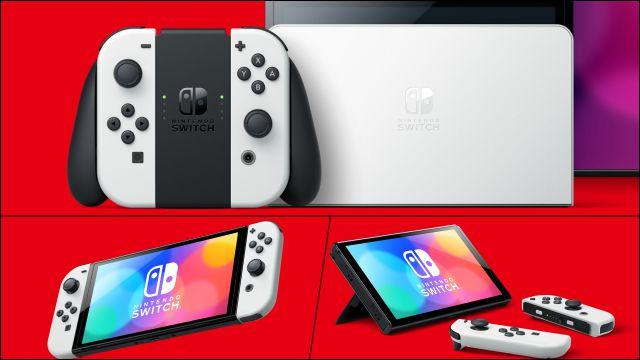 Nintendo interruptor OLED