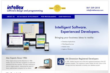 Software web site