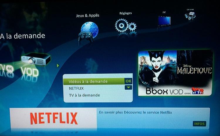 netflixsensation Netflix est disponible sur la Bbox Sentation de Bouygues