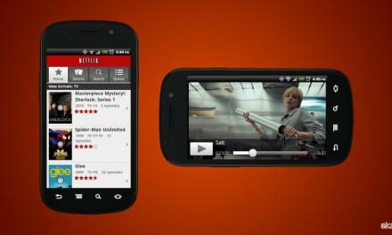 Netflix est compatible avec Android 4 et ultérieur