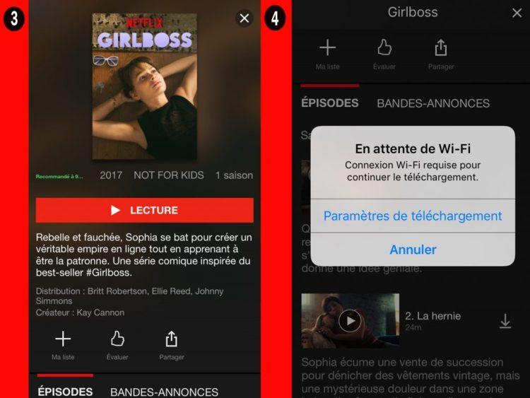 netflix regarder hors ligne2 1024x768 Regarder vos vidéos Netflix en mode Hors ligne