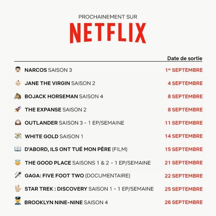 prochainement sur netflix 1024x1024 Cest la rentrée sur Netflix : les nouveaux ajouts de septembre !