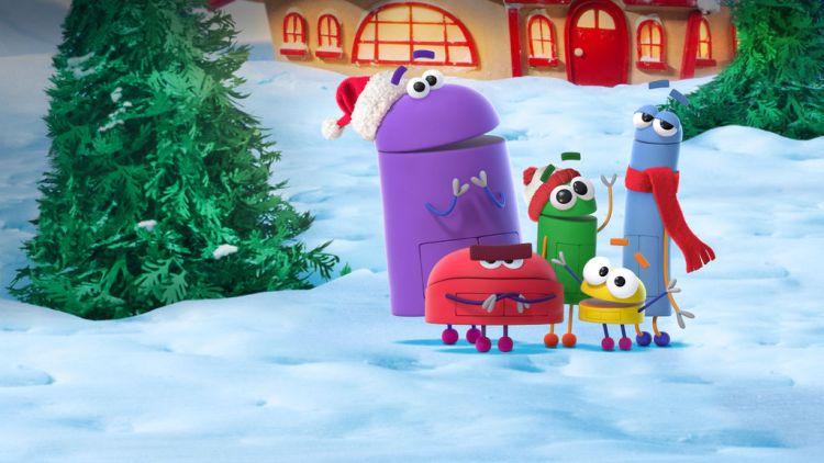 storybots oel films netfix 1024x576 La magie de Noël en 6 dessins animés uniquement sur Netflix
