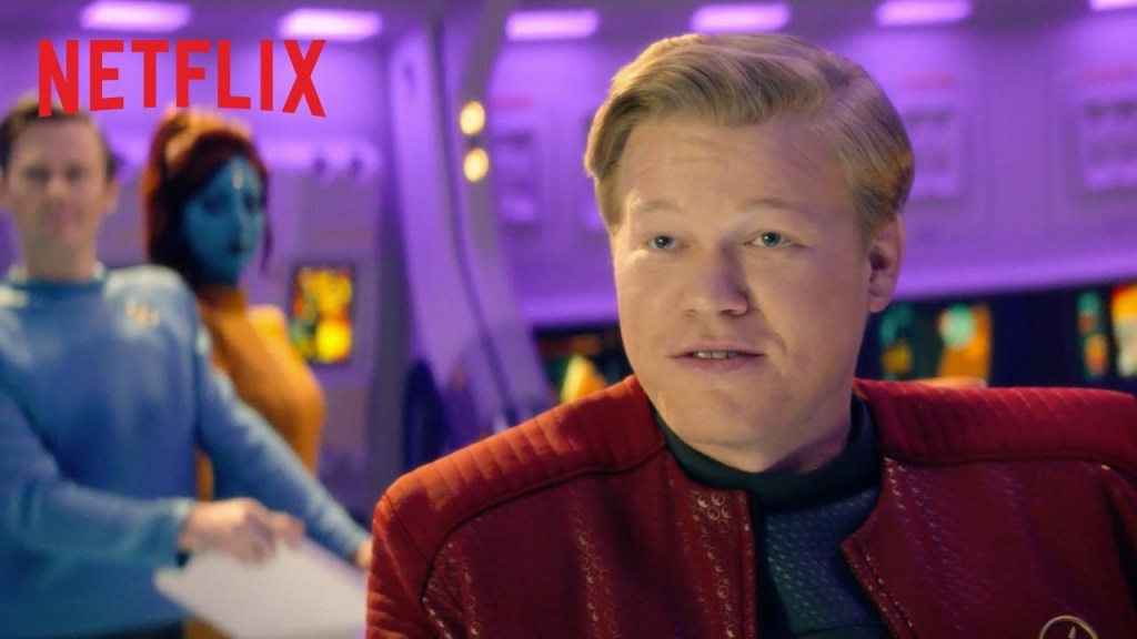 Black Mirror – U.S.S. Callister   Bande-annonce officielle [HD]   Netflix DUB