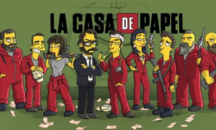 Fan Art : La Casa de Papel à la sauce Simpson