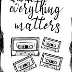 In The End, Everything...;13 Reasons Why Fan Gift/Notebook/Journal: 13RW Fan Gift/Notebook/Journal; 100+Lined Pages For Writing/Doodling