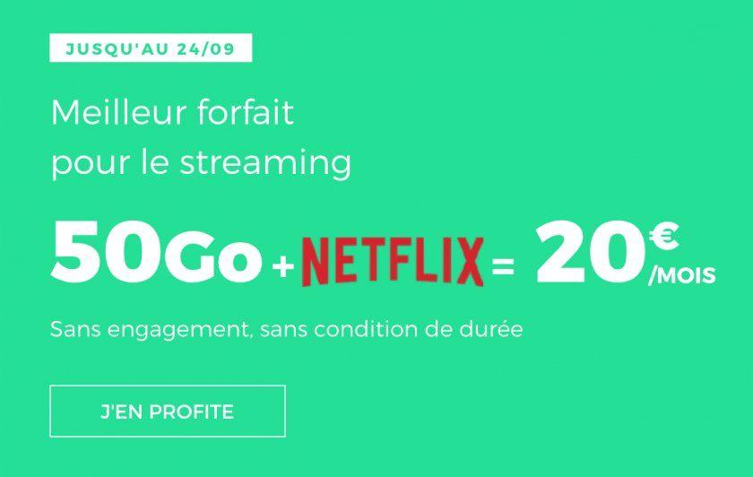 Red by SFR intègre Netflix à son abonnement