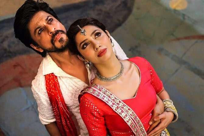 Mahira Khan Raees Shah Rukh Khan