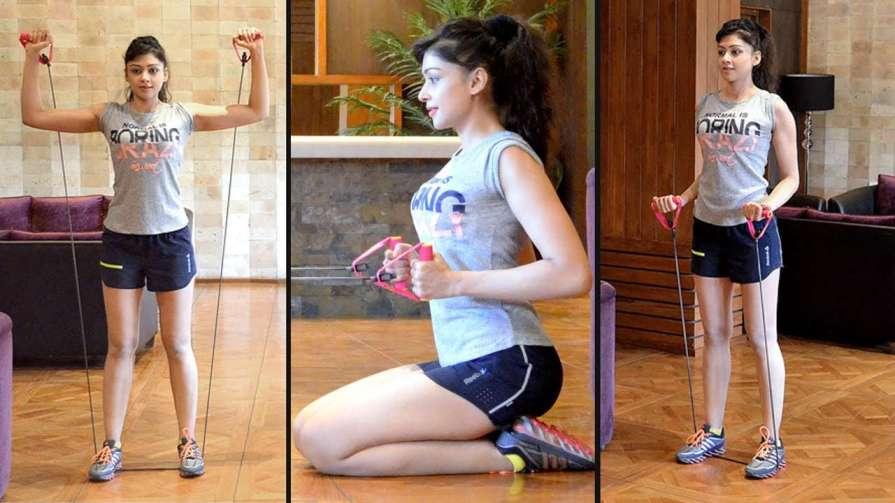 Sapna Vyas Workout At Home