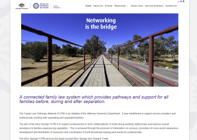 Alice Springs Family Law Pathways Network