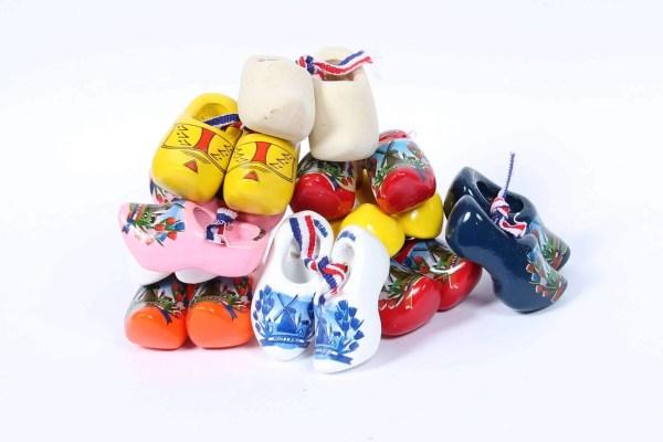 Mini clogs, 4 cm, 10 pairs - Woodenshoefactory Marken