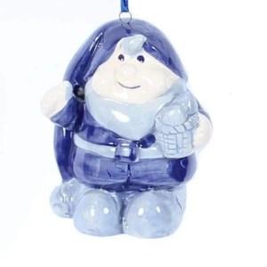 Christmas Ornament, Delft Blue, Christmas Gnome - Woodenshoefactory Marken