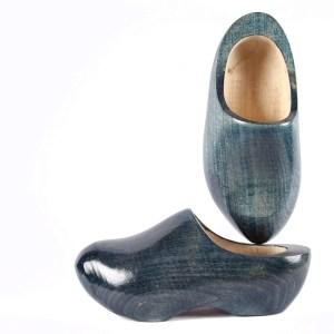 wooden shoes denim