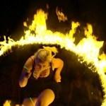 Nethervoice Burning Hoop
