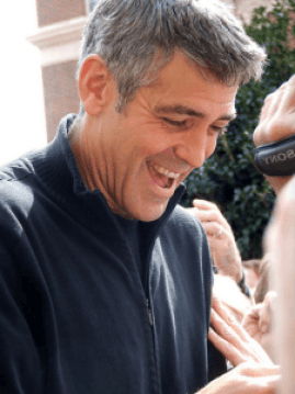 A married man: George Clooney