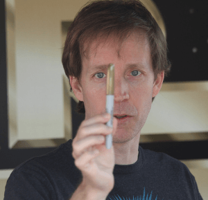Voice actor James Arnold Taylor