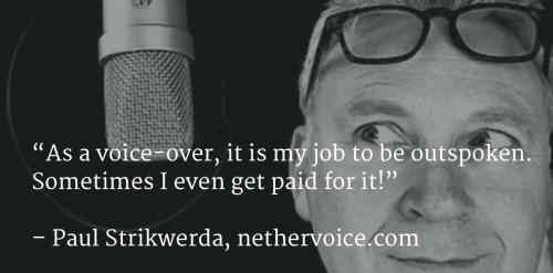 Paul Strikwerda = Outspoken