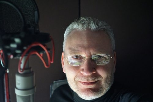 Paul Strikwerda self-portrait