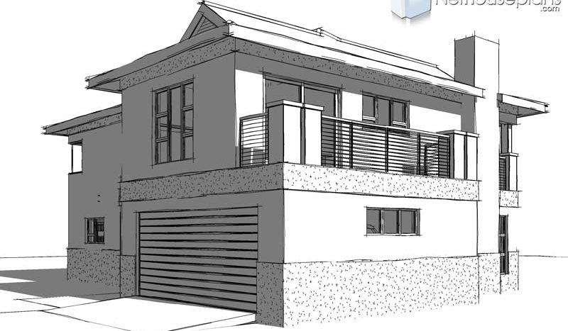 3 Bedroom House plan pdf download unique house plans with double garages 3 bedroom home designs, double story house plans South Africa, Bali Style House Plan Design Nethouseplans