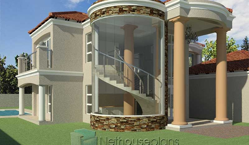 4 Bedroom House Plan | South African House Designs ...