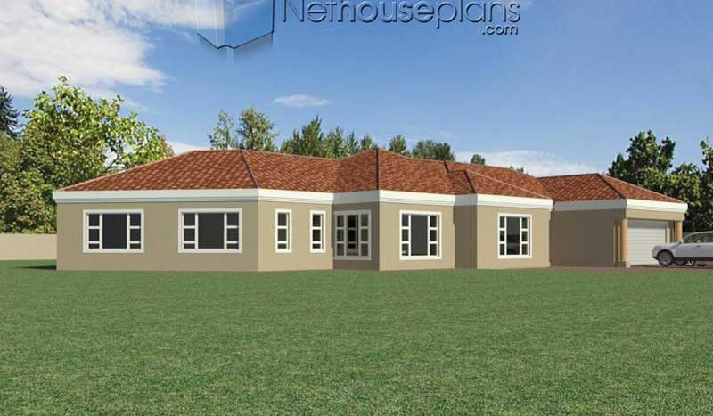 4 Bedroom House Plan South Africa | Home Designs ...