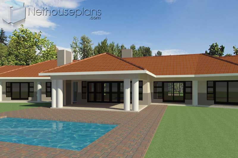 4-Bedroom-house-plans-South-Africa_TR418_Patio-View ...