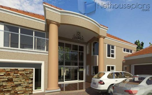 Spacious Double Storey 5 Bedroom House plans modern 5 bedroom house plans South Africa 5 bedroom double storey house plan design 5 bedroom house plan with photos Tuscan house plan for sale Nethouseplans, Net House Plans South Africa, Modern tuscan style house plan, 4 bedroom , double storey floor plans, house plans, architecture design