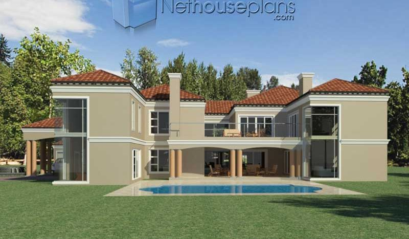Modern 5 Bedroom House Plans And Home Designs Nethouseplansnethouseplans
