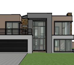 double storey house design, 4 bedroom house plan with photos, contemporary house design 300-400m2 house plans
