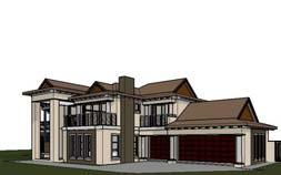 4 bedroom house plans, 4 bedroom house design, 466m2 double storey house plan design, 466sqm house plan with photos, Bali architecture designed house plan, South Africa, home designs, Nethouseplans