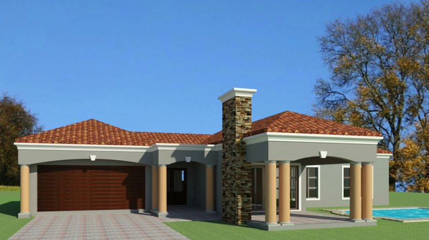 3 Bedroom House Plans South Africa | House Plans with ...