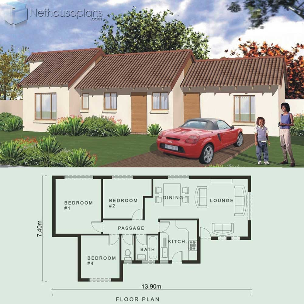 Modern 3 bedroom House Plans PDF in South Africa ...