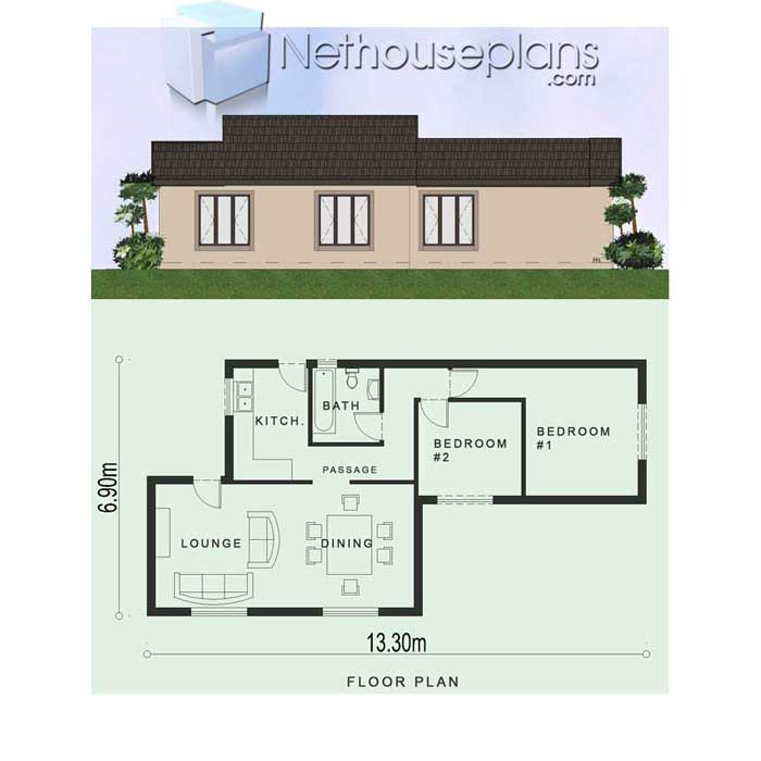 Simple-2-bedroom-house-plans-South-Africa_low-cost-house ...