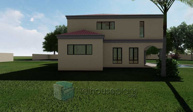 3D house plans pictures modern 3D house designs 4 bedroom house plans 3D images 3D renders Nethouseplans