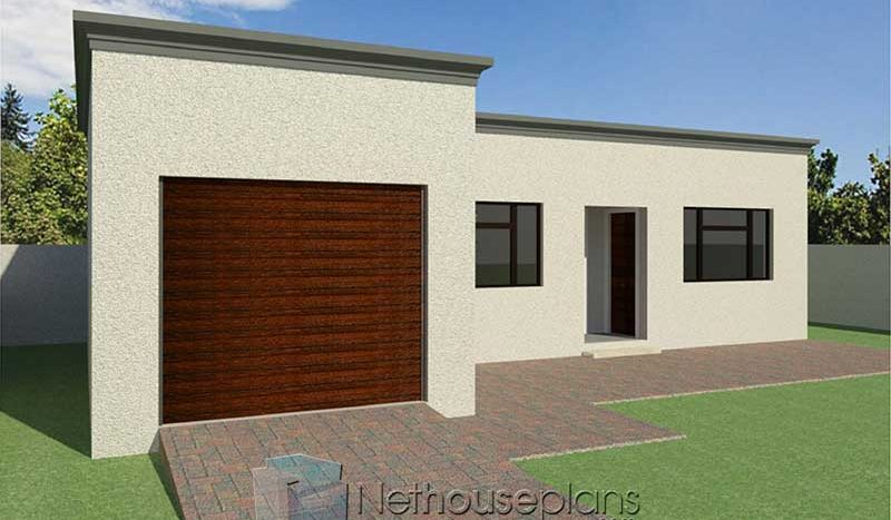 2 Room House Plans South Africa Flat Roof Design Nethouseplansnethouseplans