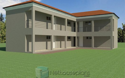 One room rental apartments house designs Two room rental units building plans rental property floor plans South Africa Nethouseplans