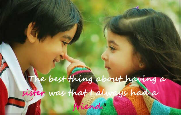 29 Cute Love Quotes On Brother And Sister Netizenshouse