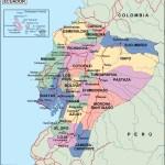 Ecuador Political Map Eps Illustrator Map Vector World Maps