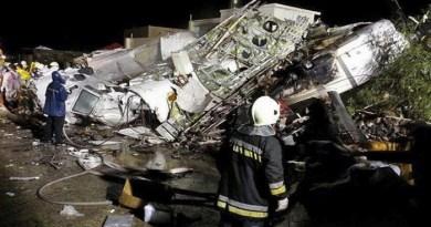 Plane crash in Russia-Netmarkers