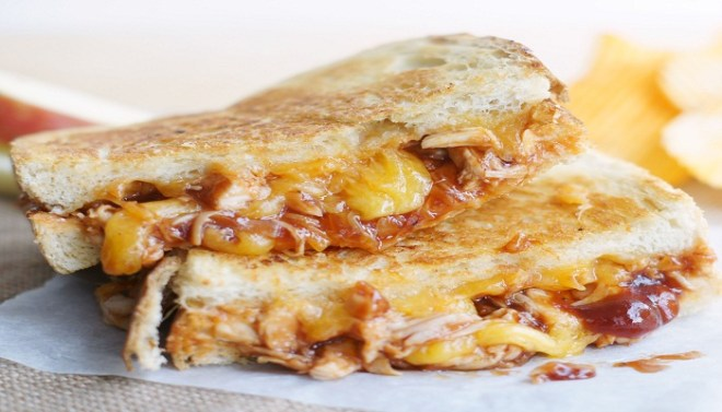 BBQ CHICKEN GRILLED CHEESE SANDWICH-Netmarkers