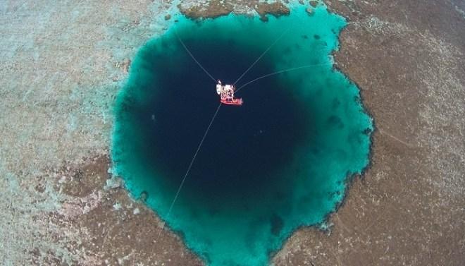 deepest blue hole-Netmarkers