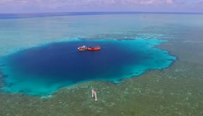 blue hole under research-Netmarkers