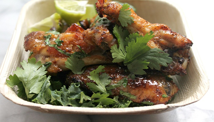 Honey-Cilantro Wings recipe-Netmarkers