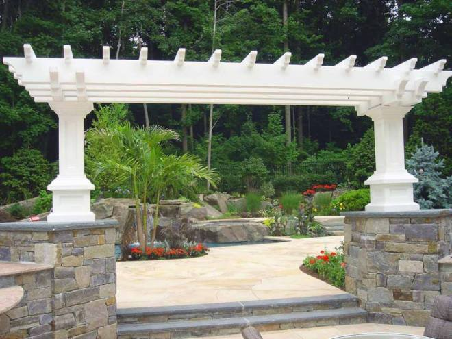 stone gazebo by Stonemart